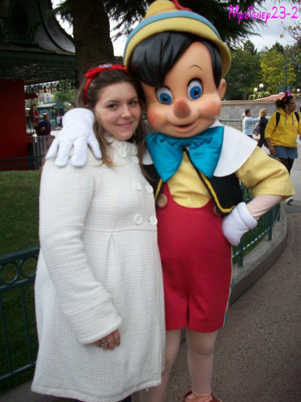 Rencontre avec Pinocchio
