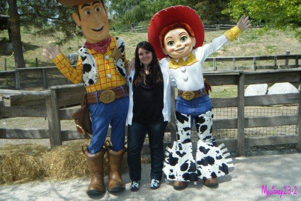 Rencontre avec Woody et Jessie