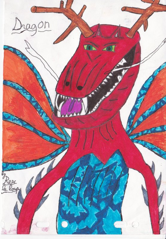 Dessins de dragons