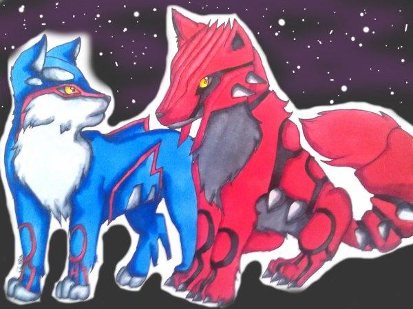 Des loups Pokémons ?
