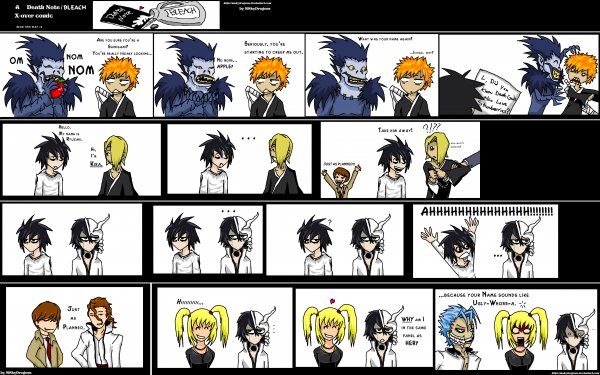 Funny Bleach X Death Note 1