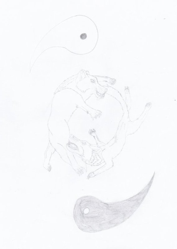 Planche manga Ωα : Conscience instinctive (Chapitre 1)
