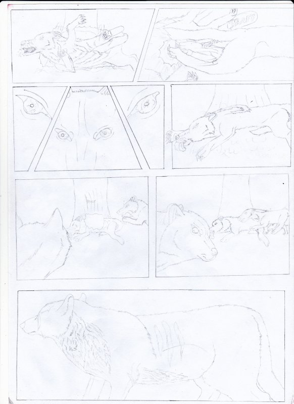 Planche manga Ωα : Conscience instinctive (Page 5)