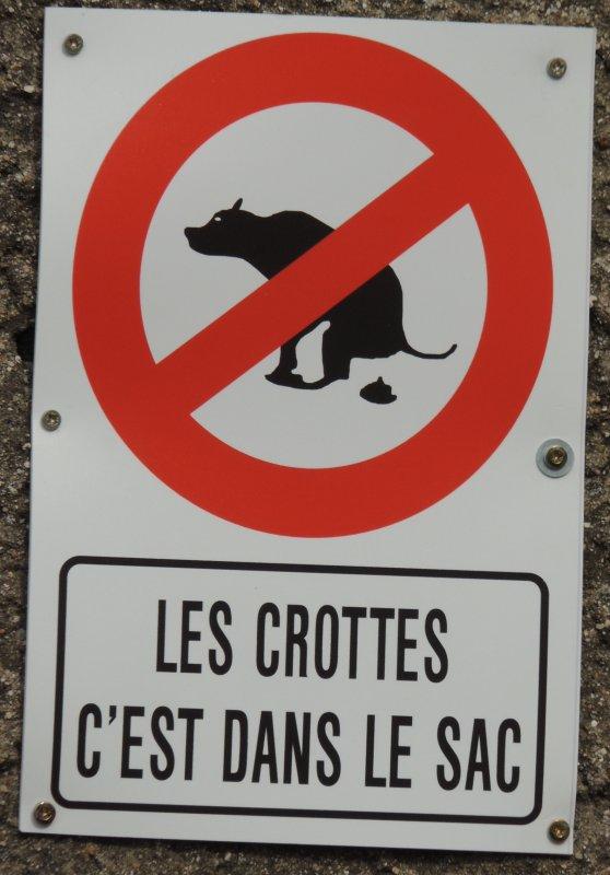 Les crottes c 39 est dans le sac a bleville sanvic et - Que faire des crottes de chien dans le jardin ...