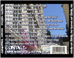CA VIENT DU COEUR, CA VIENT DE LIEGE / NEW !! ZAC & SAMI - AMERTUME (2011)