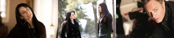Episodes de Vampire Diaries + derrière les coulisses by Nina