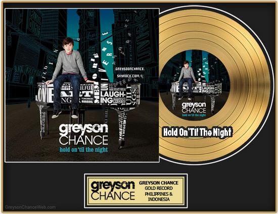 22.12.2011: Greyson Chance à lancé un petit défis !
