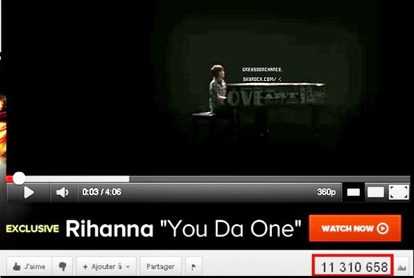 - 26.12.2011: Paparazzi- La vidéo qui à battue Justin Bieber et qui a plus de 45 00 000 de vues ! Waiting Outside The Lines qui est maintenant à plus de 11 00 000 de vues ! Unfriend You sont dernier clip (pour l'instant )le est à plus de 8 00 000 de vues bravo greyson, pour ses belles vidéos ! -