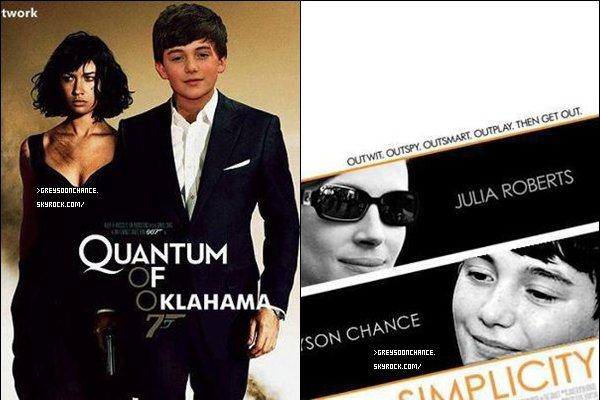 - 09.06.2012 : Voici des affiches de films que j'ai choisi, la qu'elle préfères-tu ? 1, 2, 3, 4 go go ! -