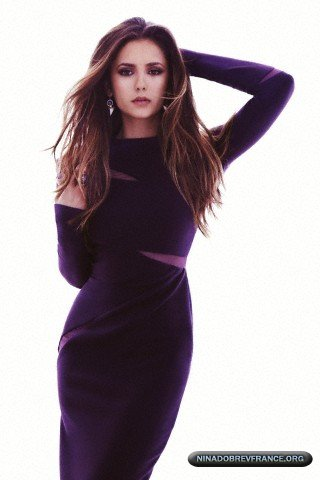 Photoshoots De Nina Dobrev Pour Fashion Magazine Vampire Diaries