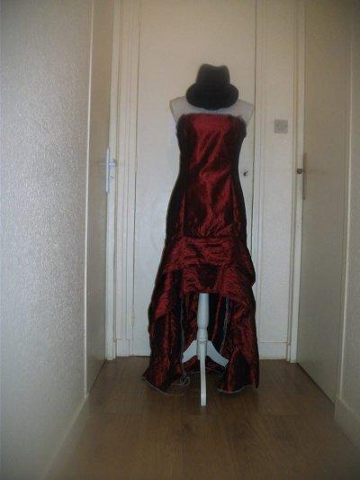 avancement robe rendu final sans les coutures 2