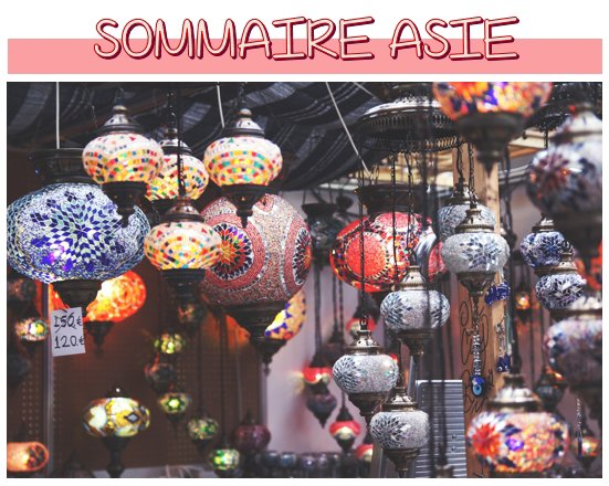 Sommaire: Asie