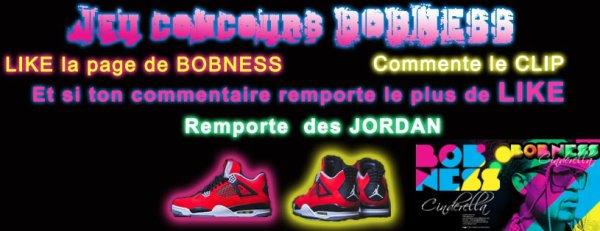 BOBNESS t'offre une paire de Jordan... c'est KDO
