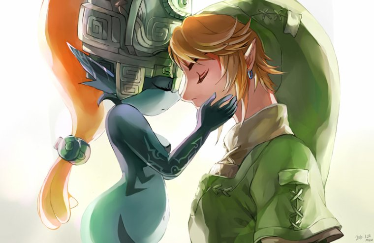 Link X Midona ( meilleur couple de The legend of Zelda Twilight Princess )