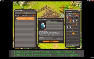 Achat du DOFUS Turquoise !!!
