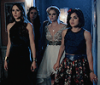 (Flashback) Earlier in then night at the prom, the girls and Sara discuss if Charles would hurt Alison and what they should do when they begin to feel unsafe and leave the maze, then run into Mona.