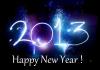 Goodbye 2012, hello 2013 !