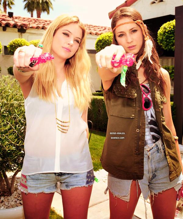 14/04 : Ashley au célèbre festival de musique Coachella qui se déroule chaque année sur deux week-ends en Californie !