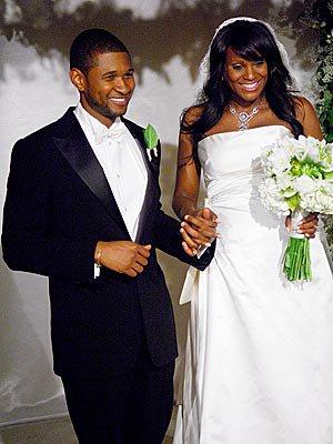 Usher a son mariage
