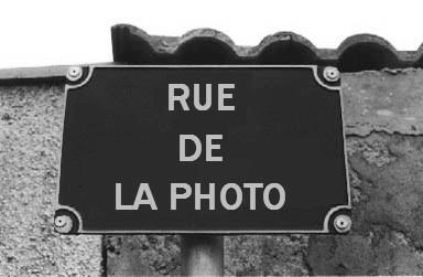 Rue de la Photo; Soyez artistes.