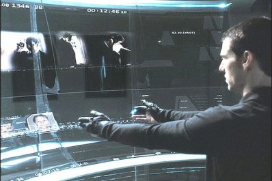 Minority Report les ordinateurs du futur