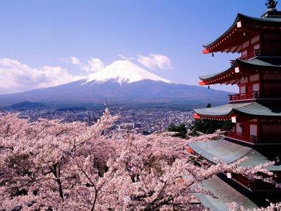 Le japon : Mont  Fuji
