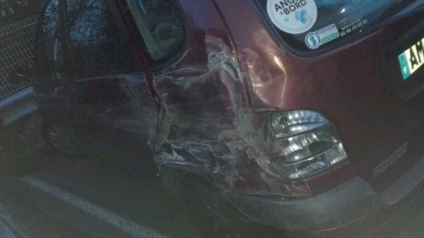 Ma Titine.... après l'accident