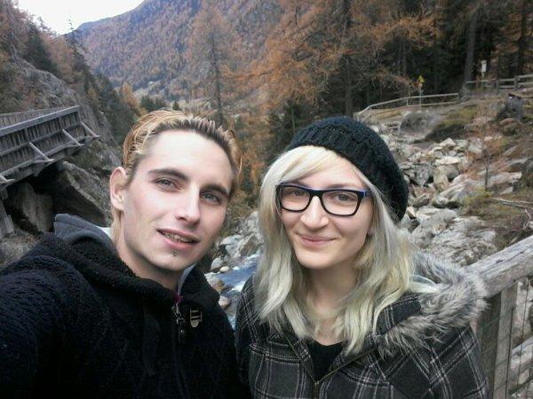 En montagne avec ma chérie