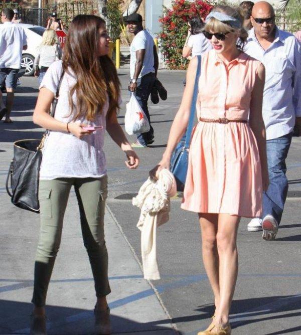 Selena Gomez et Taylor Swift se sont rapprochées grâce à leur rupture avec les Jonas Brothers       24/10/2012