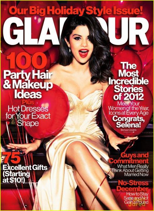 Selena Gomez élue femme de l'année 2012 par Glamour