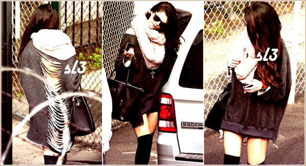 Selena arrive a LAX 8/02/2013+neo Addidas+retour a los Angeles