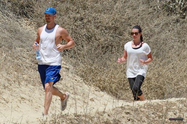 Lea et Matthew lors d'une randonnée, le 13 août 2014