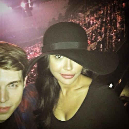 Naya et Ryan au concert de Justin Timberlake