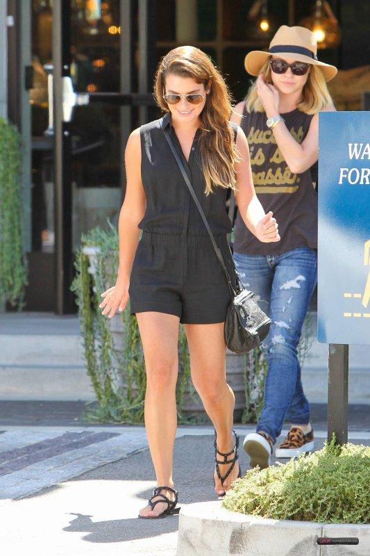 Lea Michele & Becca Tobin