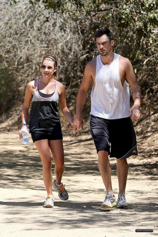 Lea et Matthew au TreePeople Park