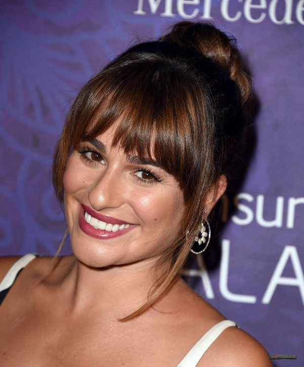 Lea at pre-Emmy celebration
