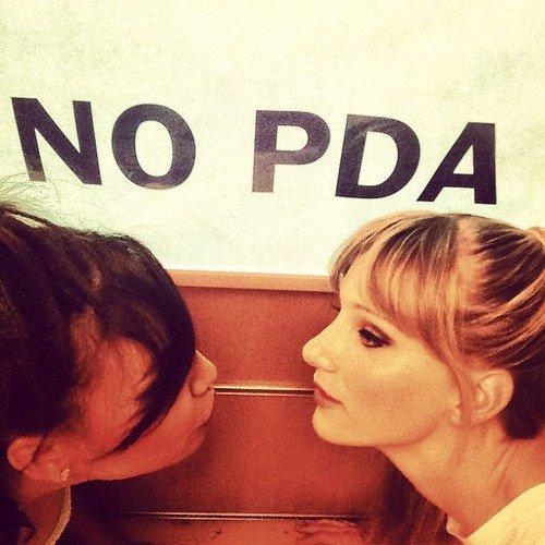 Naya & Heather