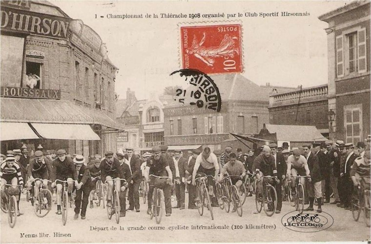 course internationale a Hirson 1908