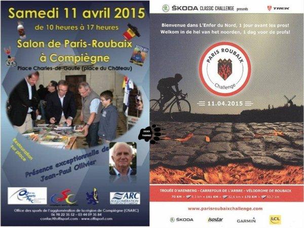 PARIS ROUBAIX une journée avant les pros le 11 04 2015