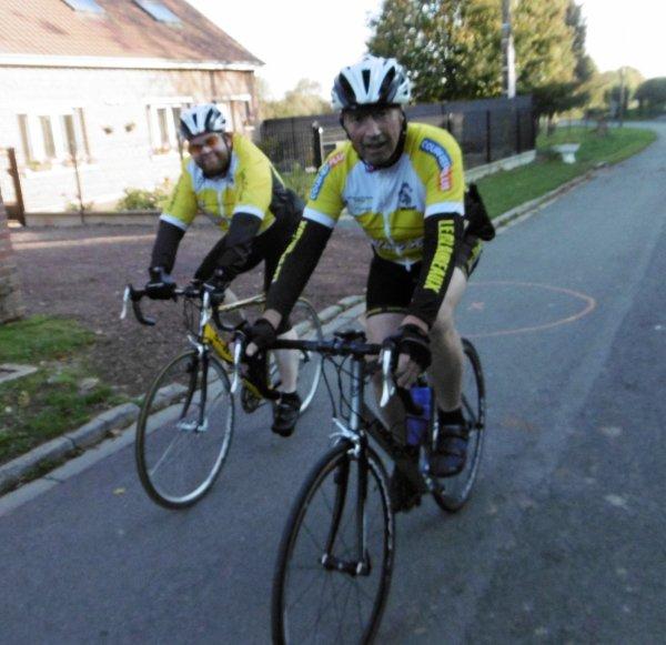BREVET CYCLO DE HOUDAIN