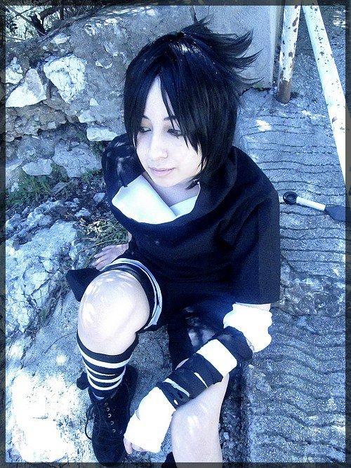 Cosplay Sasuke : Version examen chunin