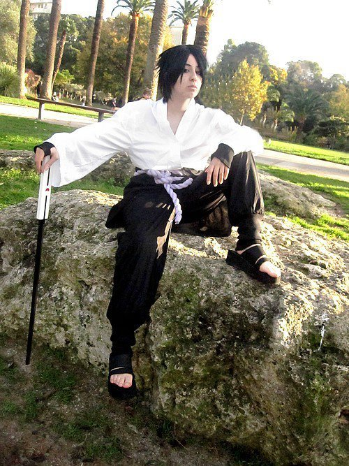 Cosplay Sasuke : Version Shippuden