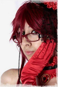 Cosplay Grell Sutcliff : version robe