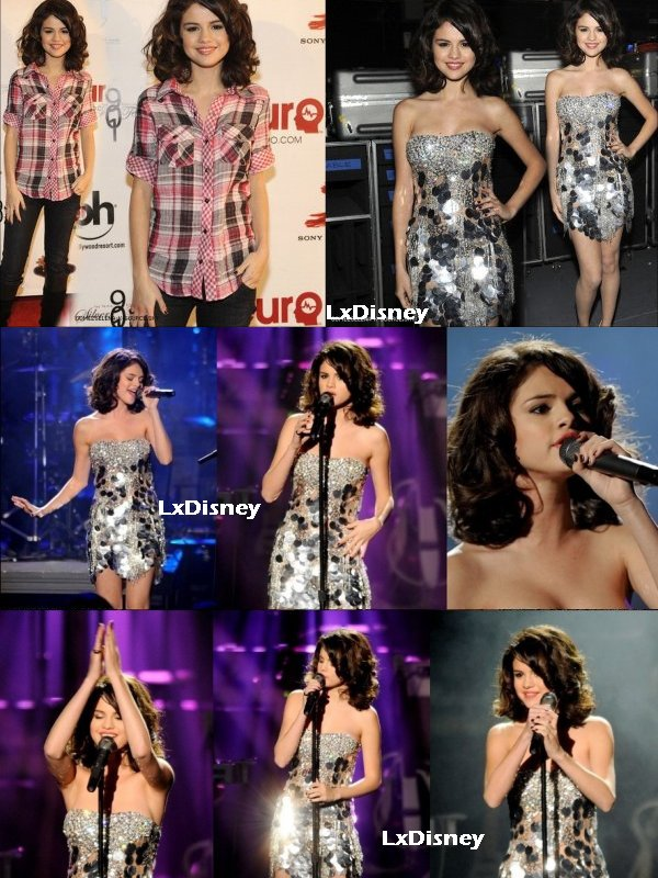 23 Octobre 2010 : Performance de Selena Gomez  au Justin Timberlake & Friends
