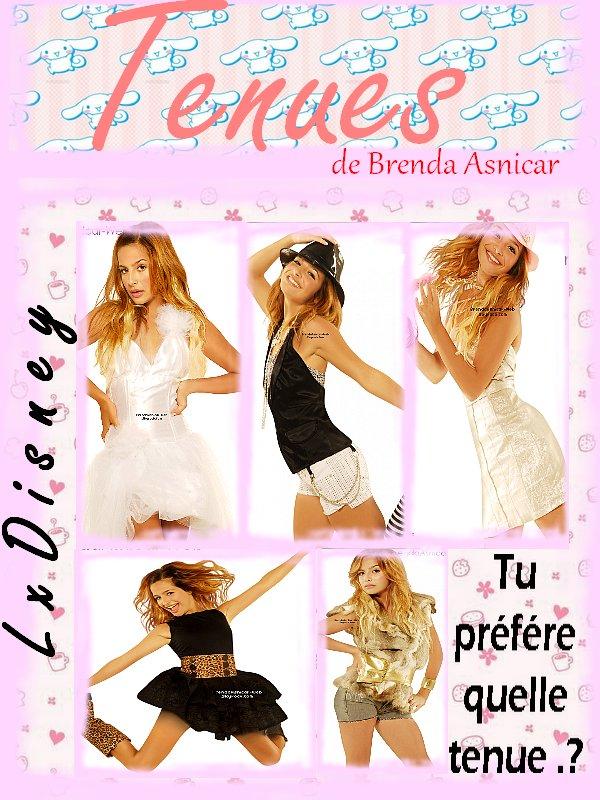 Tenue de Brenda Asnicar .!