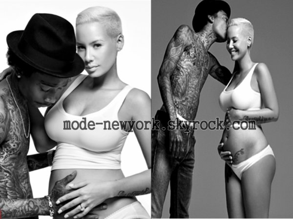 Wiz Khalifa and Amber Rose XXL