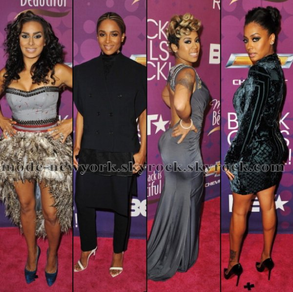 Black Girls Rock' On The Red Carpet