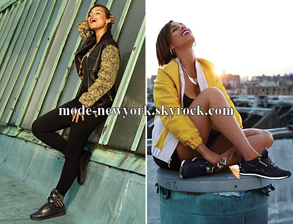 Alicia Keys Launches -Edition limité de Reebok Collection!