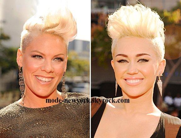 Pink VS Miley Cyrus [votre coiffure préférée]