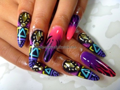 swag jusqu'aux ongles